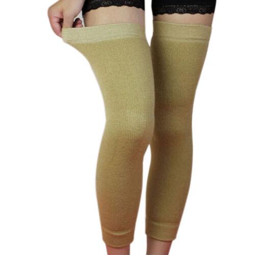 Popular Wool Thermal Knee Leg Warmer Long Socks Elasticated Kneepad Legginghc