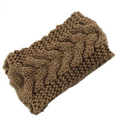 Winter Women Ear Warmer Headwrap Fashion Crochet Headband Knit Flower Hairband