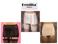 Berdita Hook-eye Side Opening Open Girdle 22001 Black, White Or Beige Nude