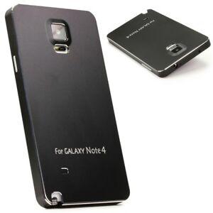 Samsung-Galaxy-Note-4-Urcover-Aluminium-backcase-bouchon-a-vis-Housse-de-protection