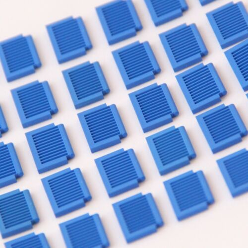 Small Window Shutters Genuine Lego Part 3582 Brand New BLUE 30 PIECES
