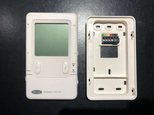 Carrier Infinity Systxccuid01 V Programmable Digital Thermostat For Sale Online Ebay