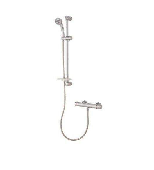 Imani Thermostatic Chrome Effect Bar Mixer Shower | eBay
