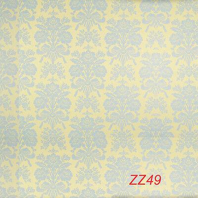 5X7FT Customized Backdrop Vinyl Photography Prop Damask Photo Background ZZ49