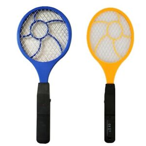 Electric  High-voltage Electric Fly Swatter Mosquito Racket Bug Zapper #dd