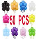50 PCS Latex PALLONCINI GRANDE elio qualità Festa Compleanno Matrimonio baloon