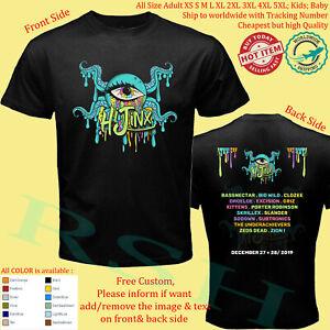 HIJINX-FESTIVAL-2019-Tour-Concert-Album-T-Shirt-Size-Adult-S-5XL-Youth-Infants
