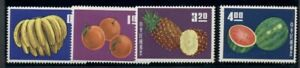 CHINA-ROC-1414-17-Complete-Fruit-set-og-NH-VF-Scott-91-00