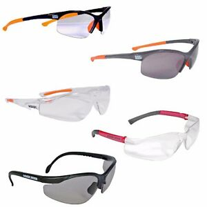 e37e91b4da 2 x Unisex Black and Decker Eyewear Protective Safety Glasses Clear ...