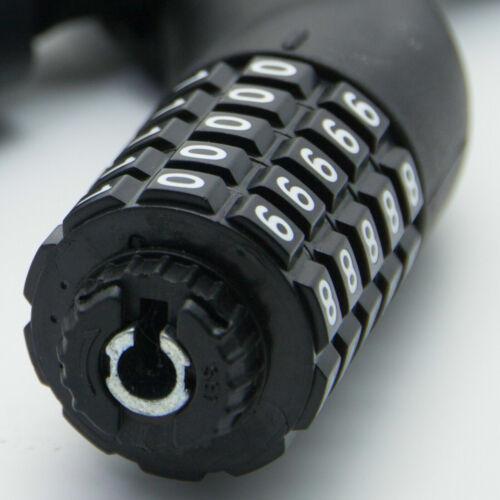 Bicycle Lock Combination Lock Tank Lock Numbers Lock 2 Keys