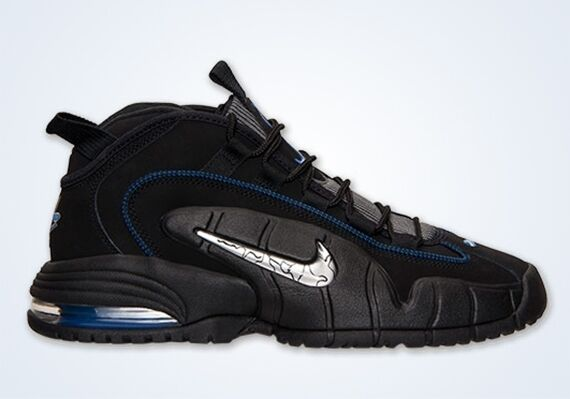 Nike All Air Max Penny 1 All Nike Star Negro Royal Azul talla 11,5.685153-001 Jordania 2 3 651215