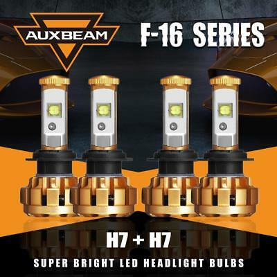 4sides 4x H7 LED Headlights Hi//Lo Beam for 2017 Kia Sorento Soul Hyundai Tucson