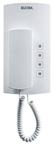 Elcom casa teléfono türtelefon bht-200 i2-bus blanco telefónicas 170.200.0
