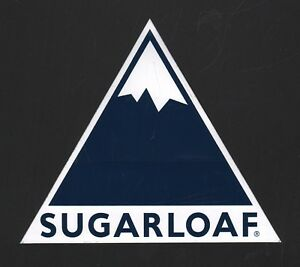 SUGARLOAF Vintage Sticker/Decal Maine Ski Skiing