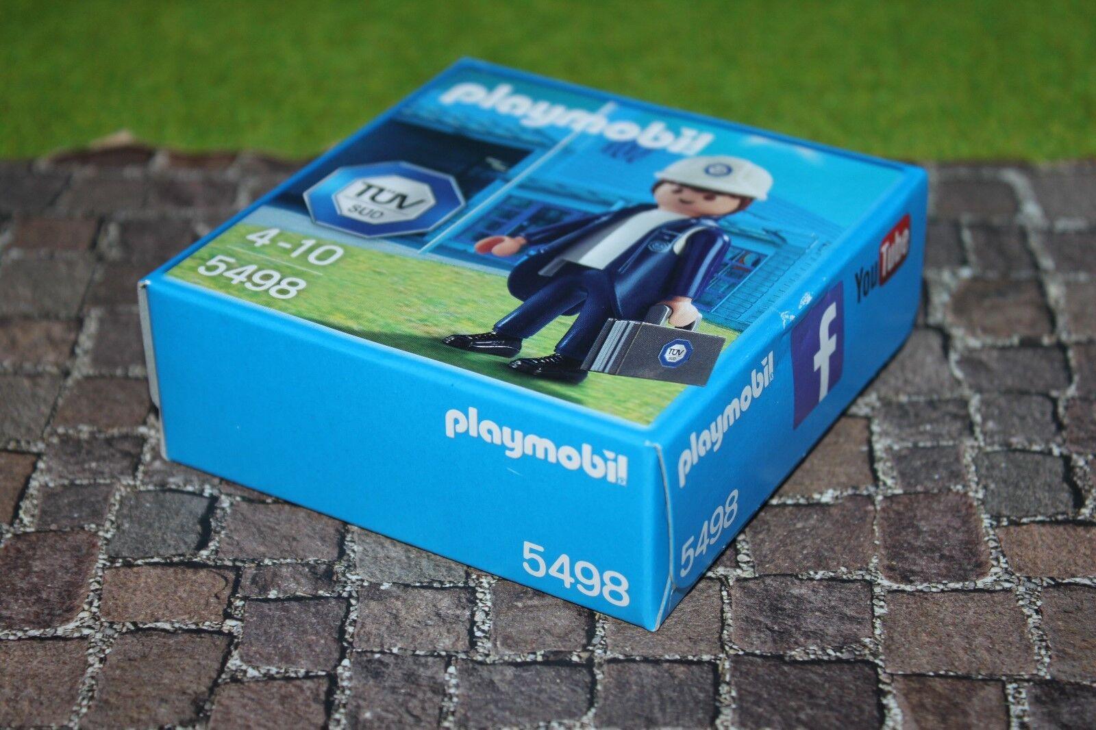 Playmobil Tüv Süd 5498 Mega Mega Mega Rare Misb Nip 1f47a1