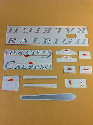 Original Raleigh Bike Stickers Calypso