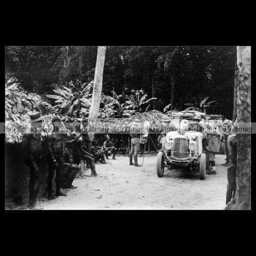 #pha.031238 Photo EXPÉDITION CITROËN CENTRE AFRIQUE CROISIERE NOIRE 1925 Car