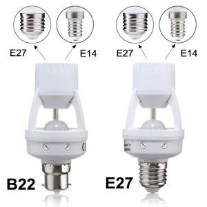 B22-E27-toE14-E27-PIR-Motion-Sensor-LED-Light-Bulb-Holder-Socket-Switch-Infrared