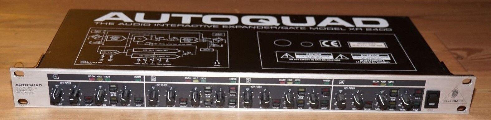 Behringer XR-2400 Autoquad The Audio Interactive Expander Gate