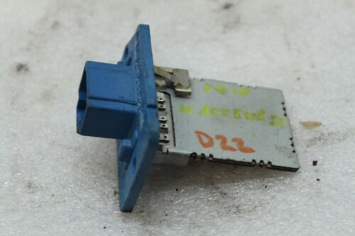07 08 09 10 11 Hyundai Accent HVAC Air A//C Blower Motor Resistor Relay Z-85-1 MS