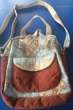 MAPPA fatti a mano design completamente foderate Quilted Tote/Borsa A Tracolla/Messenger Bag-NUOVO