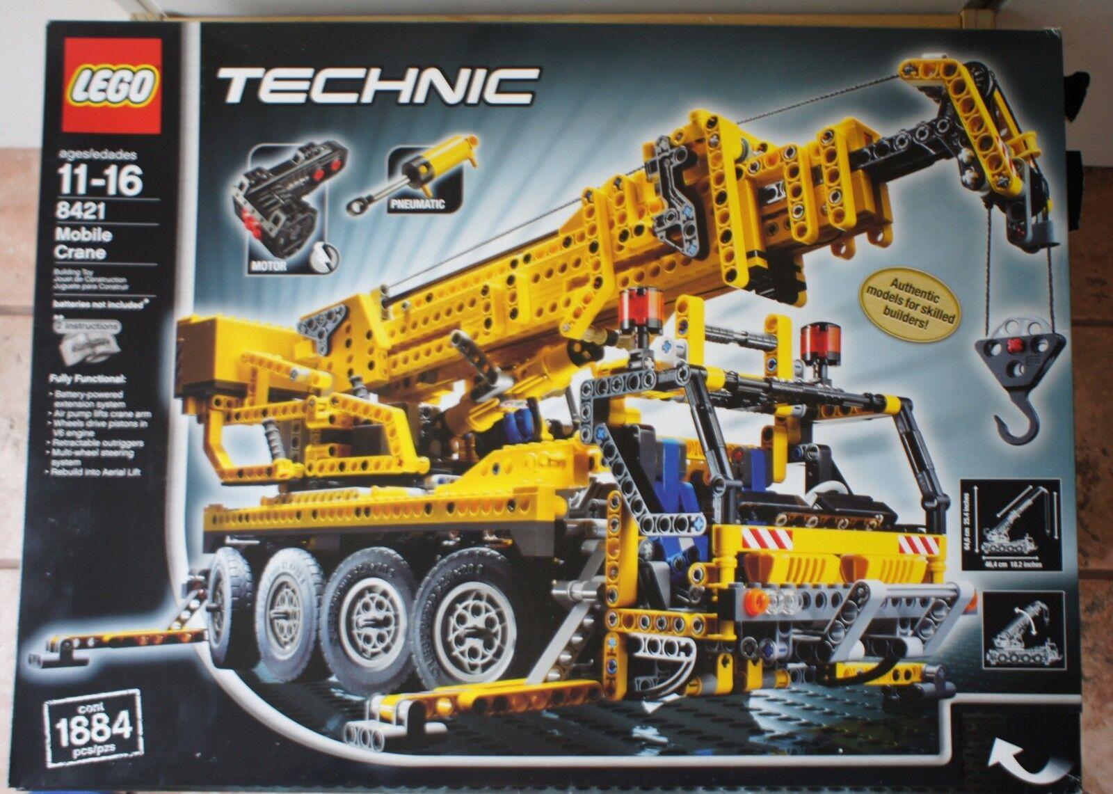 Lego Technic 8421 Mobile Crane - - - Pneumatics - Motorized - Brand New Sealed 30f4de