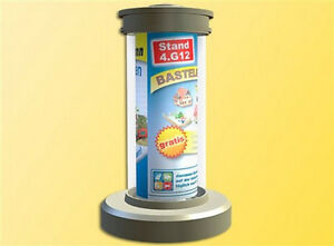 Viessmann-1392-Rotating-Advertising-Pillar-with-Lighting-H0