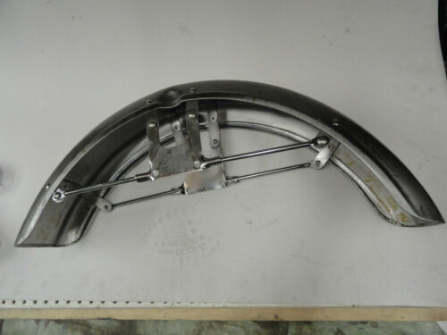 """SPORTSTER /""""NEW REPO/"""" 1973 UP FRONT FENDER #59007-73P"""