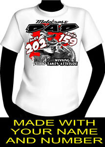 motocross DAD Pit Crew Shirt made with your name
