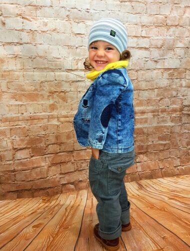 Kindersakko Sakko Blazer Jacket Jungen Jeansjacke Jeansblazer Jacke Gr 86-134