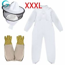 Beekeeper Suit Fencing Veil Full Body Ventilated Beekeeper Jacket Outfit Gloves