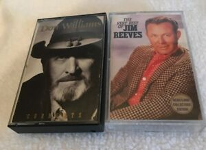 Vintage-Country-Music-Cassette-Tapes-Collectible-Comes-With-Plastic-Case