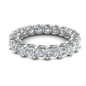 2-00-Carat-Diamond-Engagement-Rings-Solid-Real-14-Kt-White-Gold-Bands-All-Size