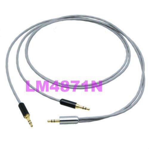 "DIY Y Balanced Leads Cable L-2B2AT 3.5mm plug stereo TRS to 2x 1//8/"" plug Audio"