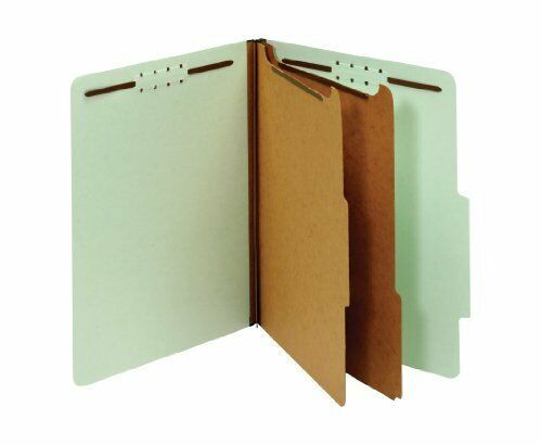 Globe-weis 14023 Recycled Classification File Folder - Letter - 8.50  X 11  -