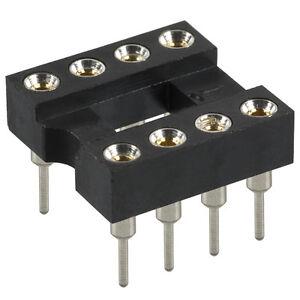 (6) Opamp Ic Sockets * Mill-max-afficher Le Titre D'origine Apparence EsthéTique