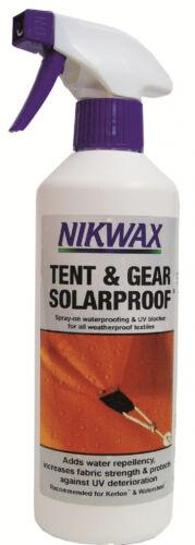New NIKWAX 500ml Outdoors Camping Tent /& Gear Solarproof 500ml