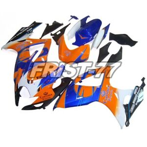 Body-Frames-for-Suzuki-GSXR600-2007-GSXR750-2006-Panels-K6-Body-Work-Orange-Blue