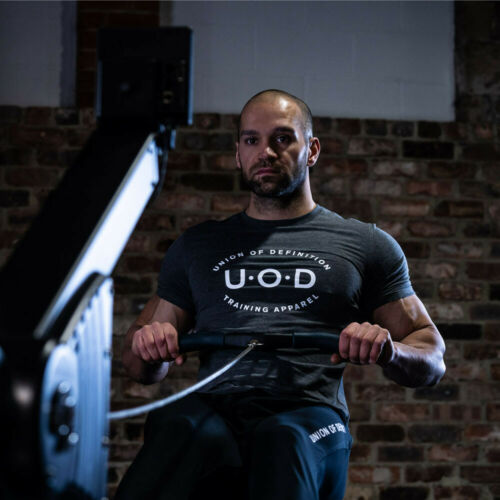 Union Of Definition Mens Legend T Shirt Tee Top Grey Sports Gym Breathable