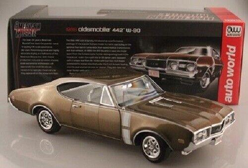 1968 Oldsmobile 442 w-30 limitato a 1.002 pezzi auto World 1 18 OVP NUOVO