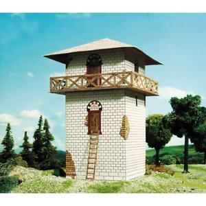 Schreiber-Bogen-Kartonmodellbau-Romischer-Wachturm-Papiermodell-Bausatz