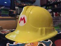 Nintendo Super Mario Maker Promo Construction Helmet Hat Preorder Exclusive Rare