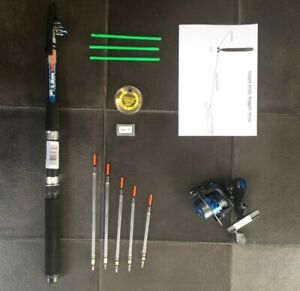 Telescopic-Travel-starter-kit-6-ft-Rod-amp-Reel-Complete-Set-for-Coarse-Fishing