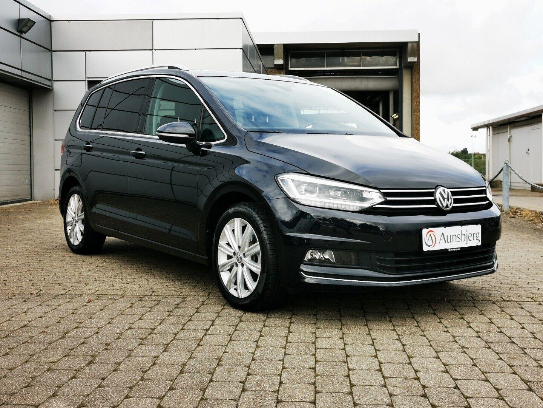 VW Touran 1,5 TSi 150 Highline DSG 7prs 5d - 349.500 kr.