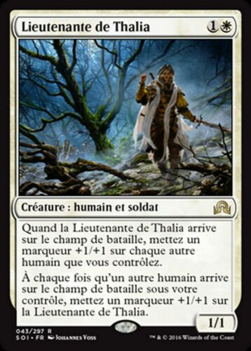 MRM FRENCH Lieutenante de Thalia Thalia/'s Lieutenant MTG magic SOI