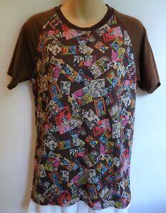 11c02eed13 Play Comme des Garcons Shirt Top Brown Cartoon Short Sleeve Vintage ...