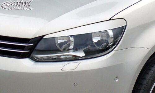 RDX Scheinwerferblenden VW Caddy Touran Facelift 2011 1T GP2 Böser Blick