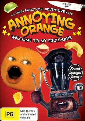 1 of 1 - The High Fructose Adventures Of Annoying Orange : Vol 2 (DVD, 2013) (D155)