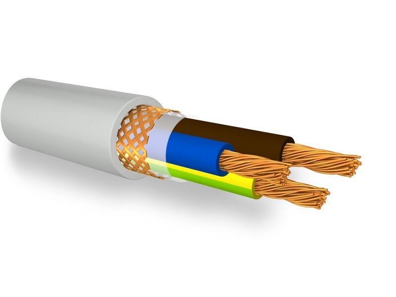 FRH2R/2 Cable Shielded Npi Flex Grey 3x1 Mmq With G/V