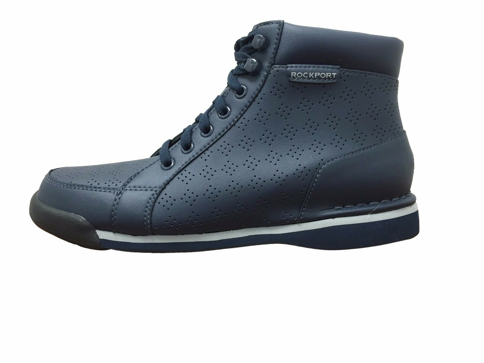 Rockport M7100 Boot Navy Perforated (V80126)